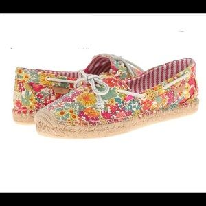 Sperry Top-Sider Katama Floral Espadrilles